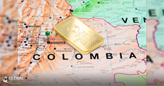 Gold becomes the economic engine of Colombia
