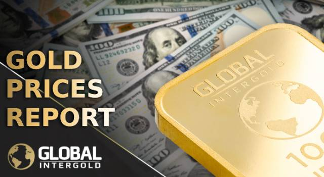 Gold prices report on October 1, 2018