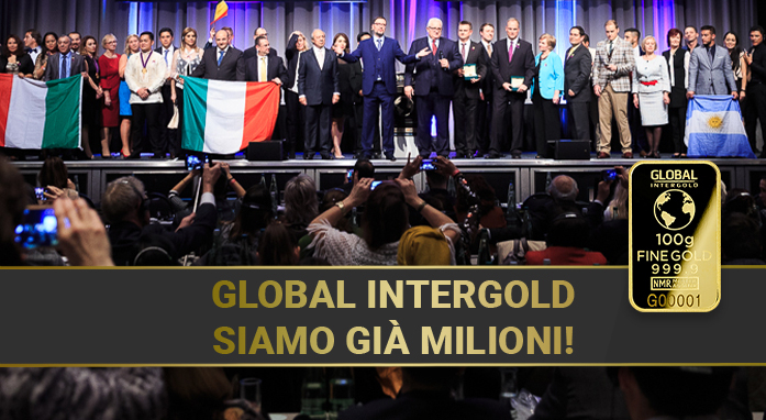 [VIDEO]: Global InterGold – siamo già milioni!