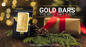 Gold bars — the best gift ever!