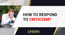 How to cope with criticism?