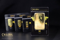 GIG-branded gold bars are in the spotlight!