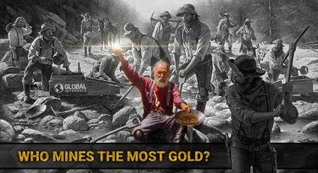 Who mines the most gold?
