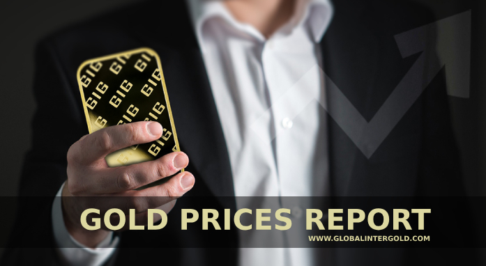 Gold prices report on September 3, 2018