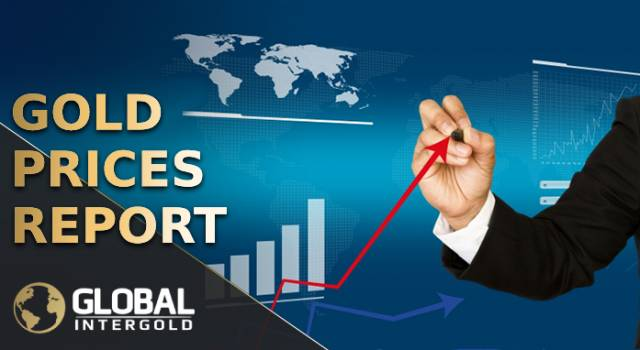 Gold prices report on December 17, 2018