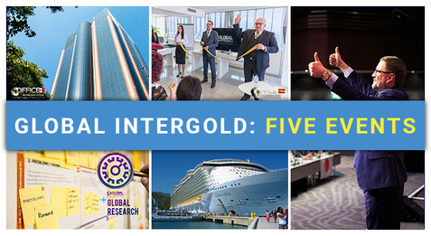 Global InterGold: five events that changed the quality of our clients' lives