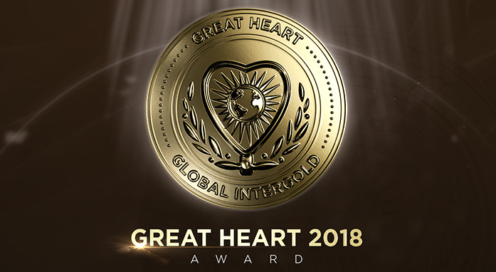 "The medal ""Great Heart"""