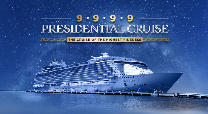 Only in your dreams? Now you can get aboard the cruise liner!