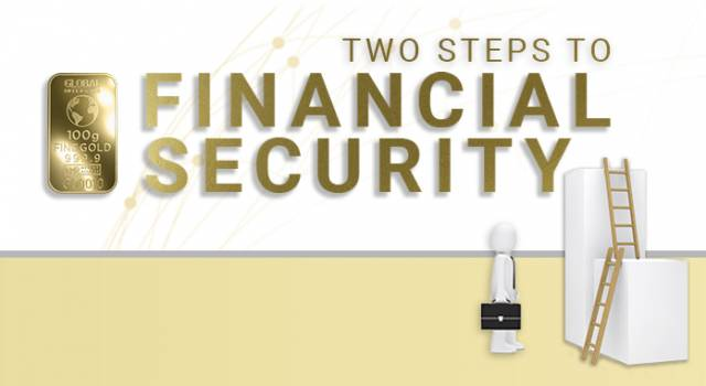 Two Steps to Financial Security
