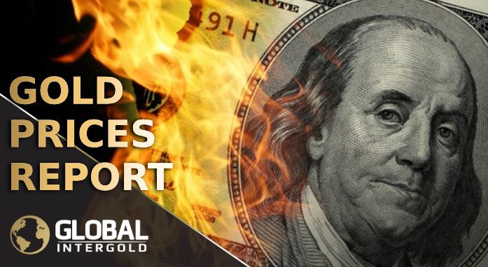 USA, Italy and Great Britain affect the price of gold.