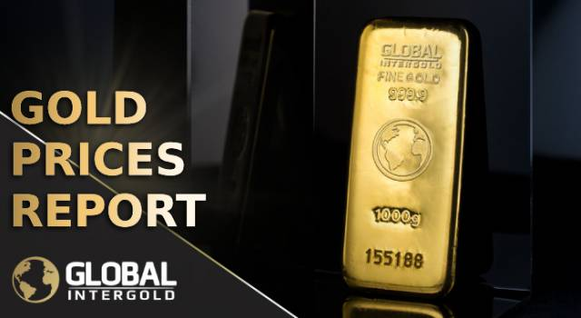 Gold prices report on October 22, 2018
