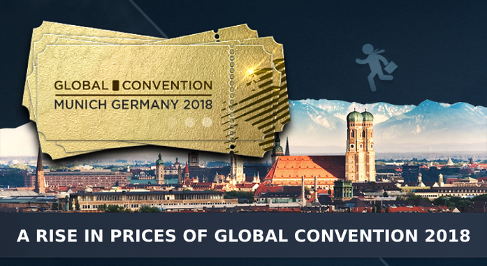 A rise in prices of Global Convention 2018