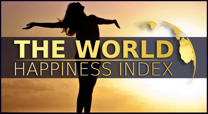 The world happiness index is at its lowest.