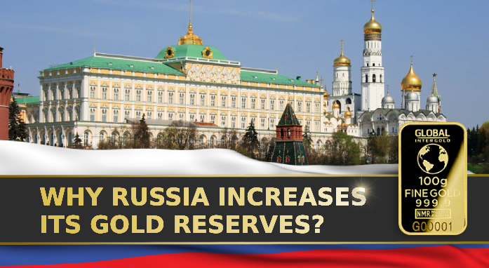 Russia chooses gold. Find out the reasons for it.