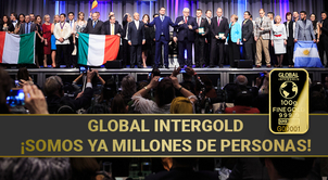 [VIDEO]: Global InterGold: ¡somos ya millones de personas!