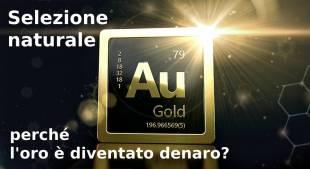 Selezione naturale: perché l'oro è diventato denaro?