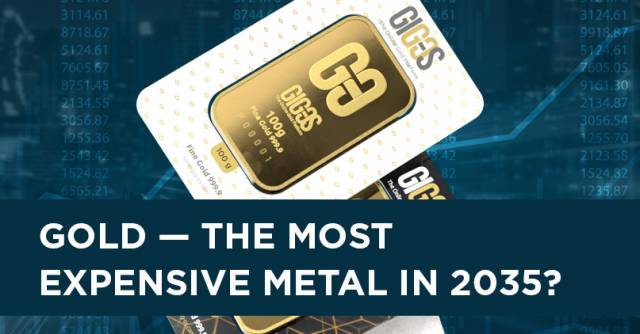 Gold — the most expensive metal in 2035?