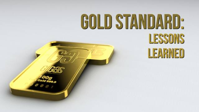 [VIDEO] Gold standard: lessons learned
