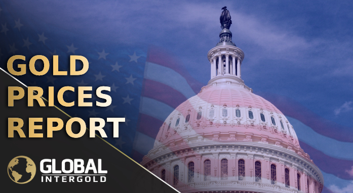 Gold prices report on November 12, 2018