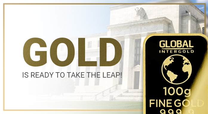 Gold is ready to take the leap!