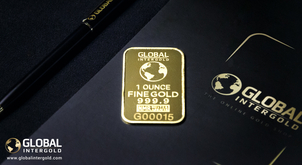 How are Global InterGold-branded gold bars produced