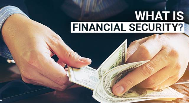 The importance of Financial Security