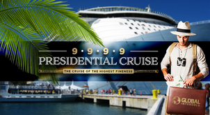 There is a 999,9% chance of joining the PRESIDENTIAL CRUISE