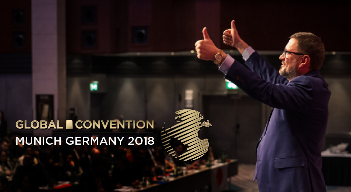 [REPORTAGE FOTOGRAFICO] GLOBAL CONVENTION 2018 - storie di successo