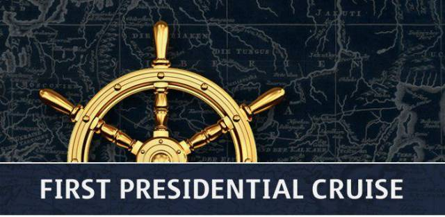 The names of the invitees for the First Presidential Cruise are known.