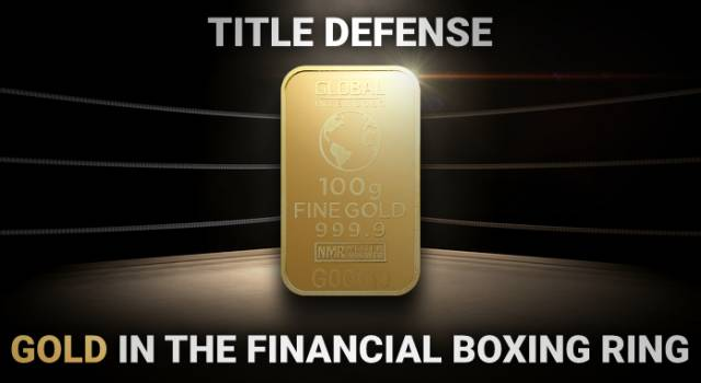 Title defense: gold in the financial boxing ring