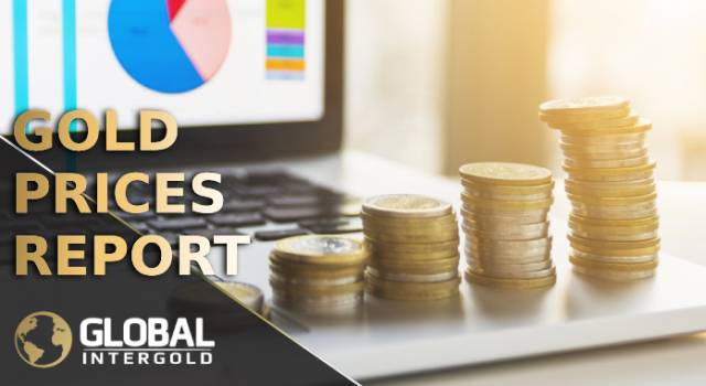 Gold prices report on November 20, 2018