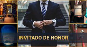 Invitado de Honor: Un objetivo que merece esfuerzos. ¡Un resultado que merece respeto!