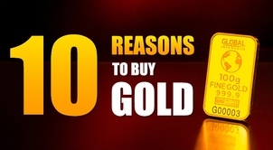 Protect your finances: 10 reasons to buy gold