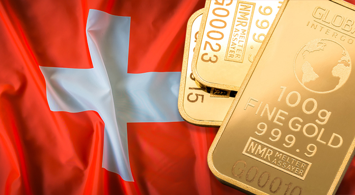 Well-being based on gold: the case of Switzerland