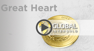 "Why is the ""Great Heart"" medal the highest Global InterGold's award?"