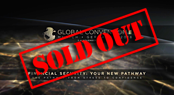 Global Convention 2018: all the tickets are sold out!
