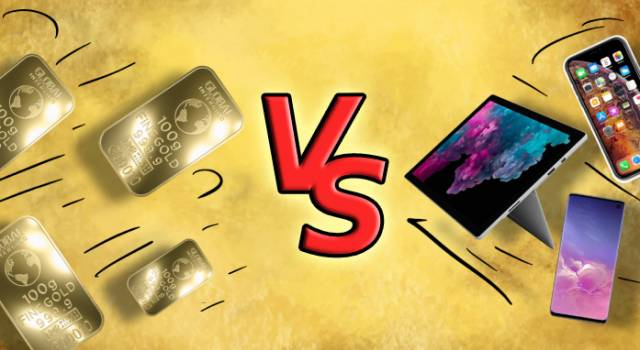 Perché l'oro è meglio di un gadget moderno?