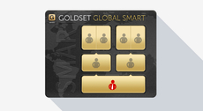 Yes, you can by means of the GoldSet Global Smart order. Have a look how to make it work.