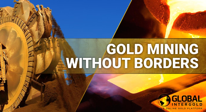 Gold mining without borders: beneath the ground and above the clouds